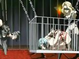 Chained Hentai Hard Fucked By Shemale Anime