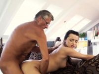 Old man young girl swallow first time What would you