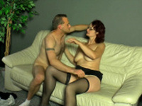 cuckold picks up a stranger in the street to get fuck