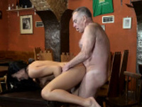 Old threesome Can you trust your gf leaving her alone