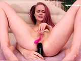 CRAZY MILK Squirting Nipples with Pink Hair Teen