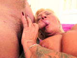 Chubby gilf pounded before tasting jizz