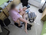 Sexy blonde MILF Katy Rose does anything for a loan