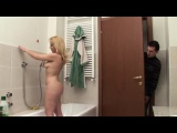 Boy spying his auntie in shower pt 1 - More On HDMilfCam com