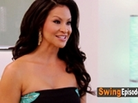 Swinger couples play steamy games