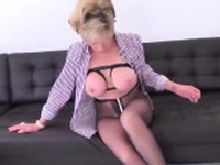 Adulterous english mature lady sonia unveils her huge32enM