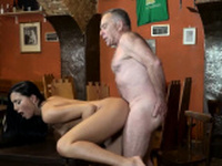 Big fat daddy first time Can you trust your gf leaving