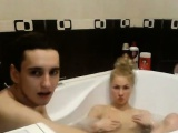 Homemade teen blonde babe doggystyle