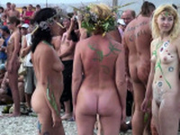 Reality outdoor bitches get off on their own femdom needs