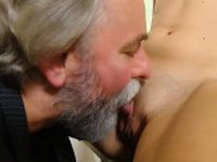 Natural bookworm is tempted and plowed by senior teac49Lql